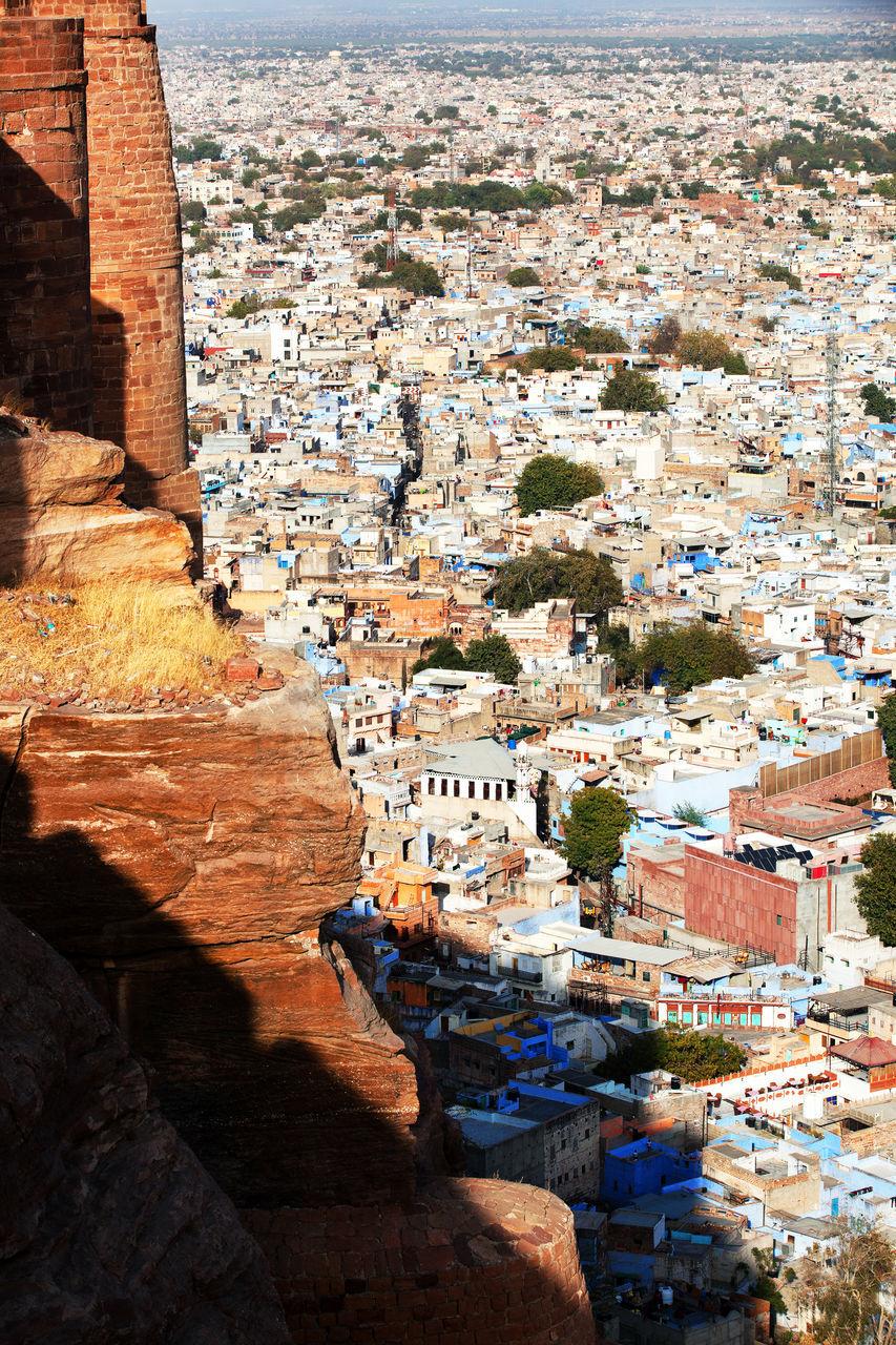 Cityscape Through Mehrangarh Fort