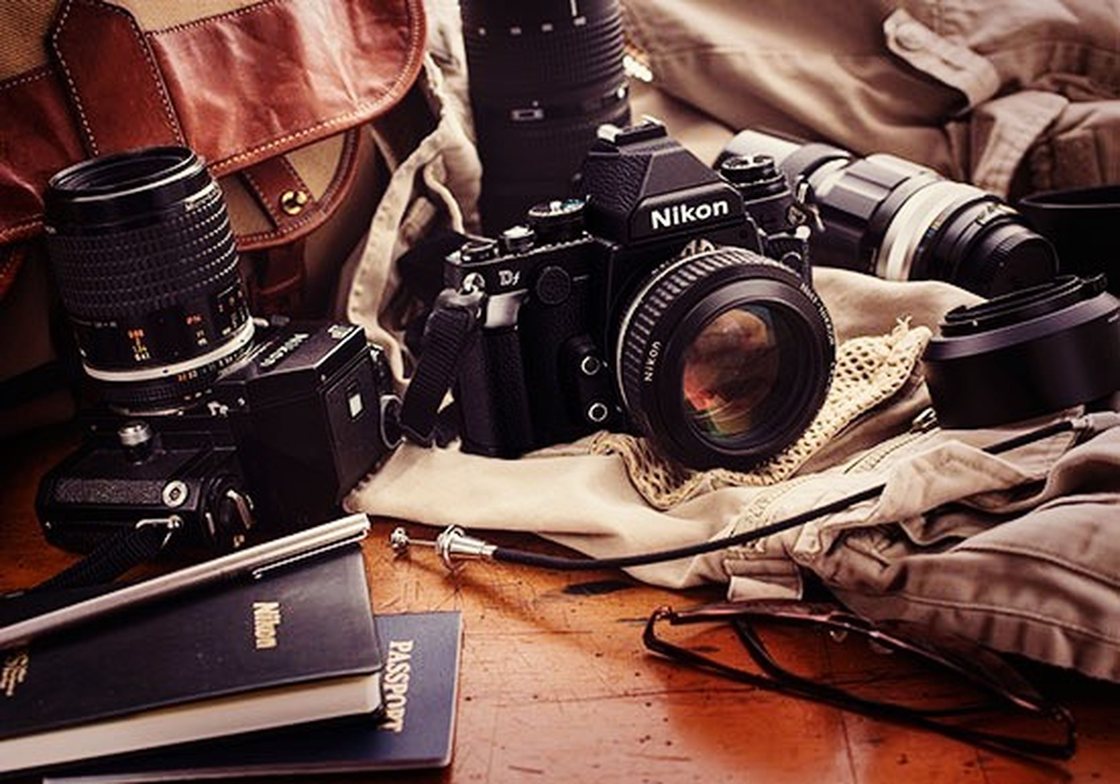 indoors, technology, close-up, equipment, high angle view, retro styled, still life, part of, music, old-fashioned, photography themes, working, camera - photographic equipment, machinery, table, musical instrument, work tool, communication, no people