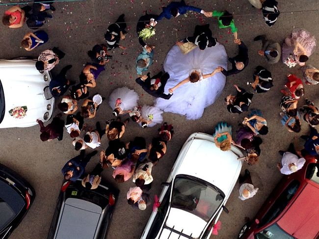 Wedding Bride زفّة Lebanon Middle East View From Above From My Balcony Tradition Tradition Ethnic