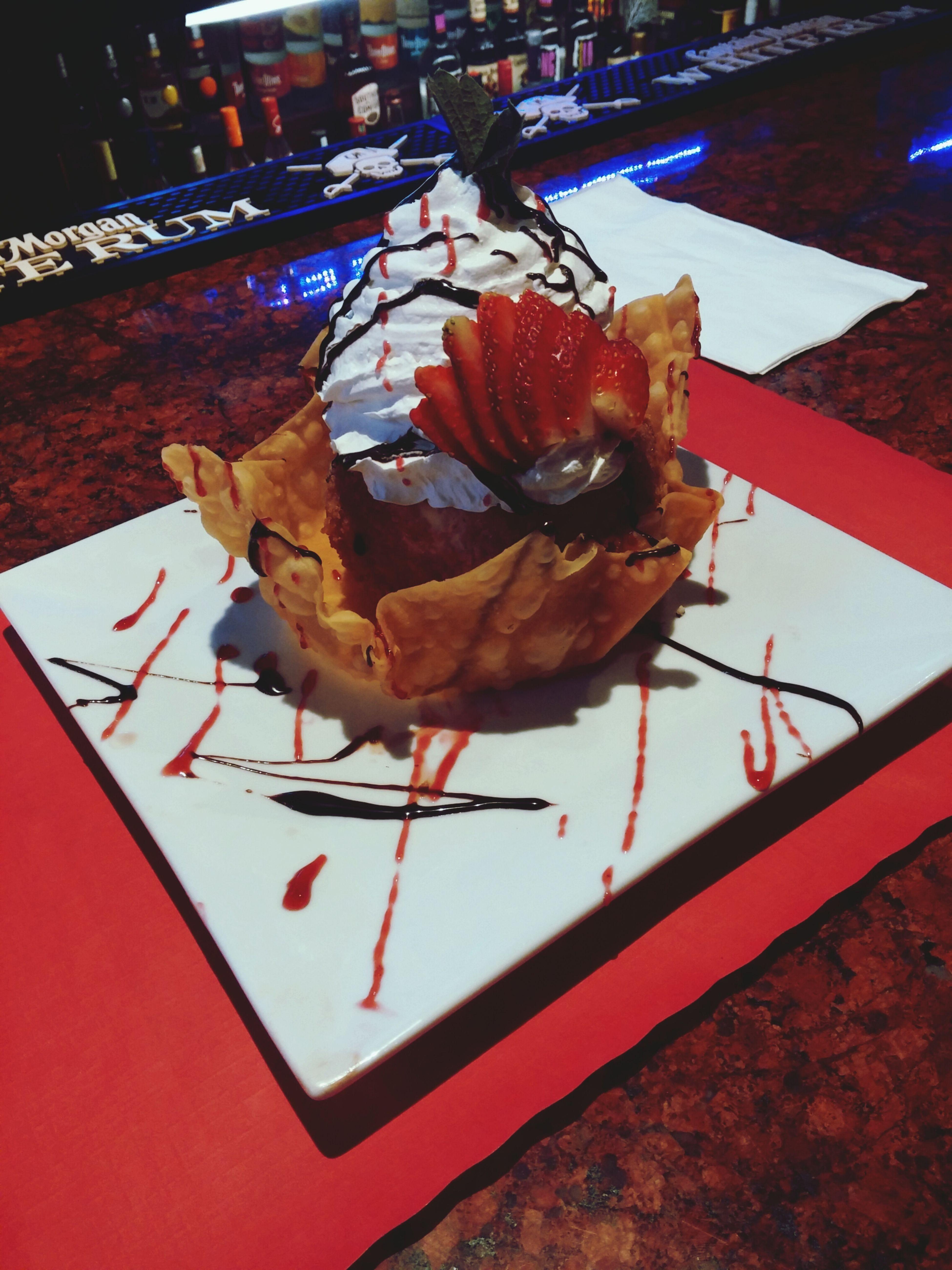 Fried Ice Cream Deep Fried Ice Cream Ice Cream Bar