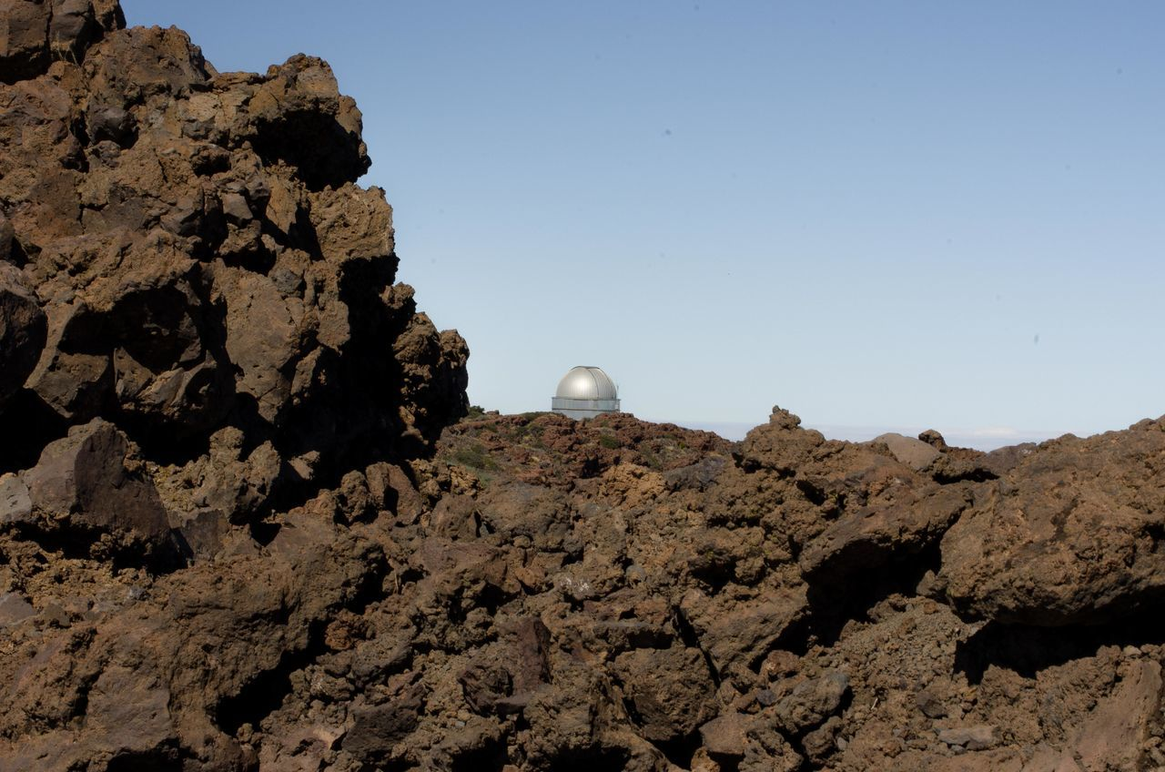 Day Dome No People Observatory Outdoors Rock - Object Roque De Los Muchachos Travel Destinations
