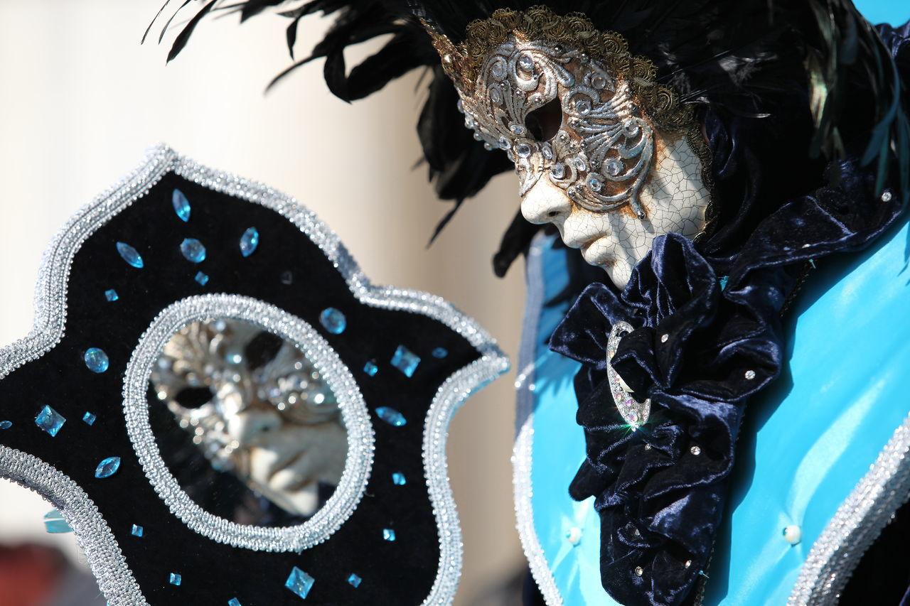 Carneval Carnevale Di Venezia Creativity Maschere Maschere Veneziane Mask - Disguise Mirrors Venice