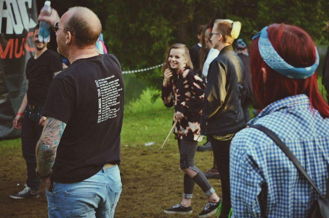 punk rock festivaaal 😊 Togetherness Friendship Adventure People Lifestyles Punksnotdead Punk
