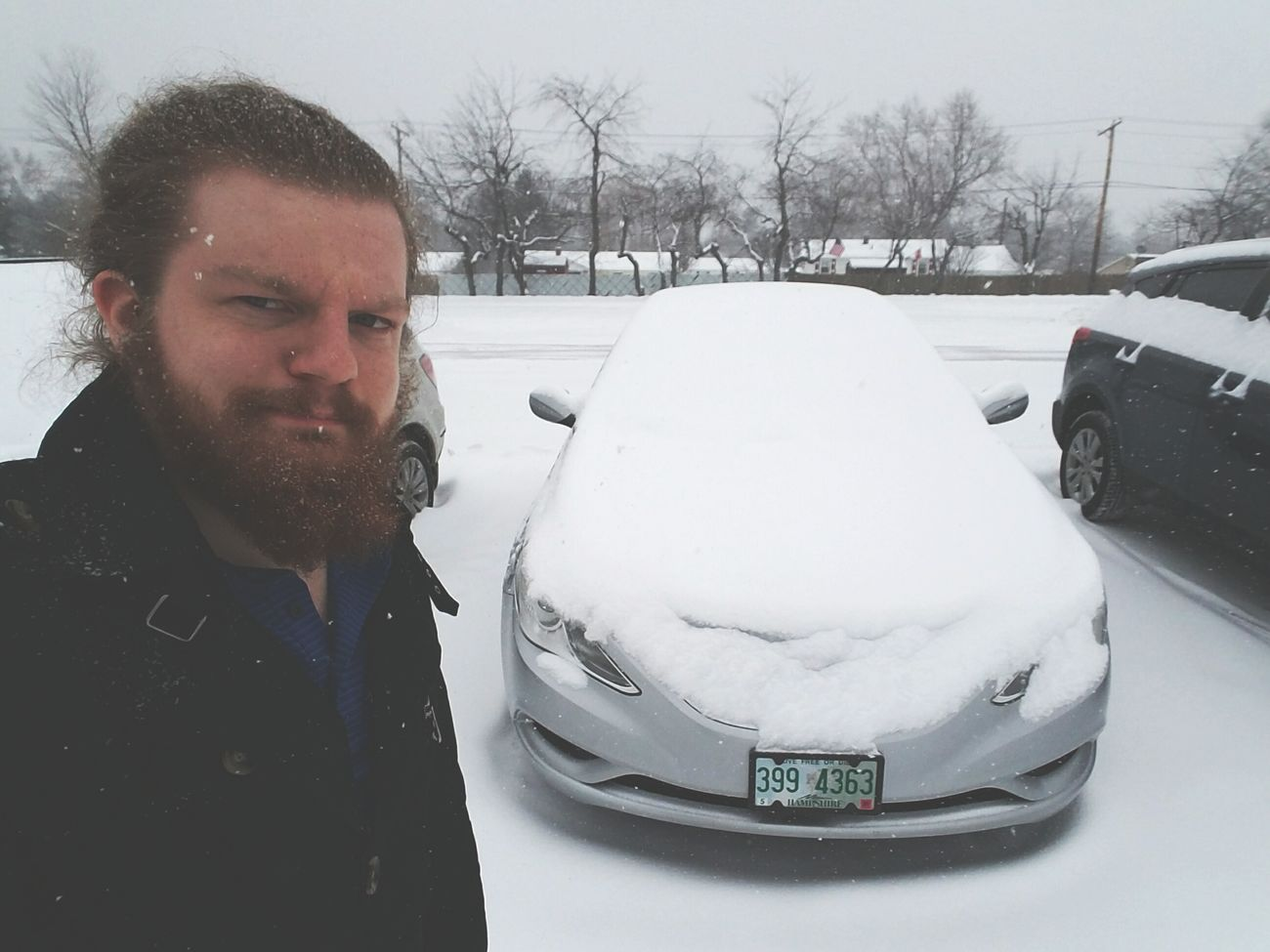 Winter Snow Portrait Business Finance And Industry Cold Temperature Headshot Front View Beard Warm Clothing Only Men People One Person Outdoors Adults Only Adult One Man Only Day