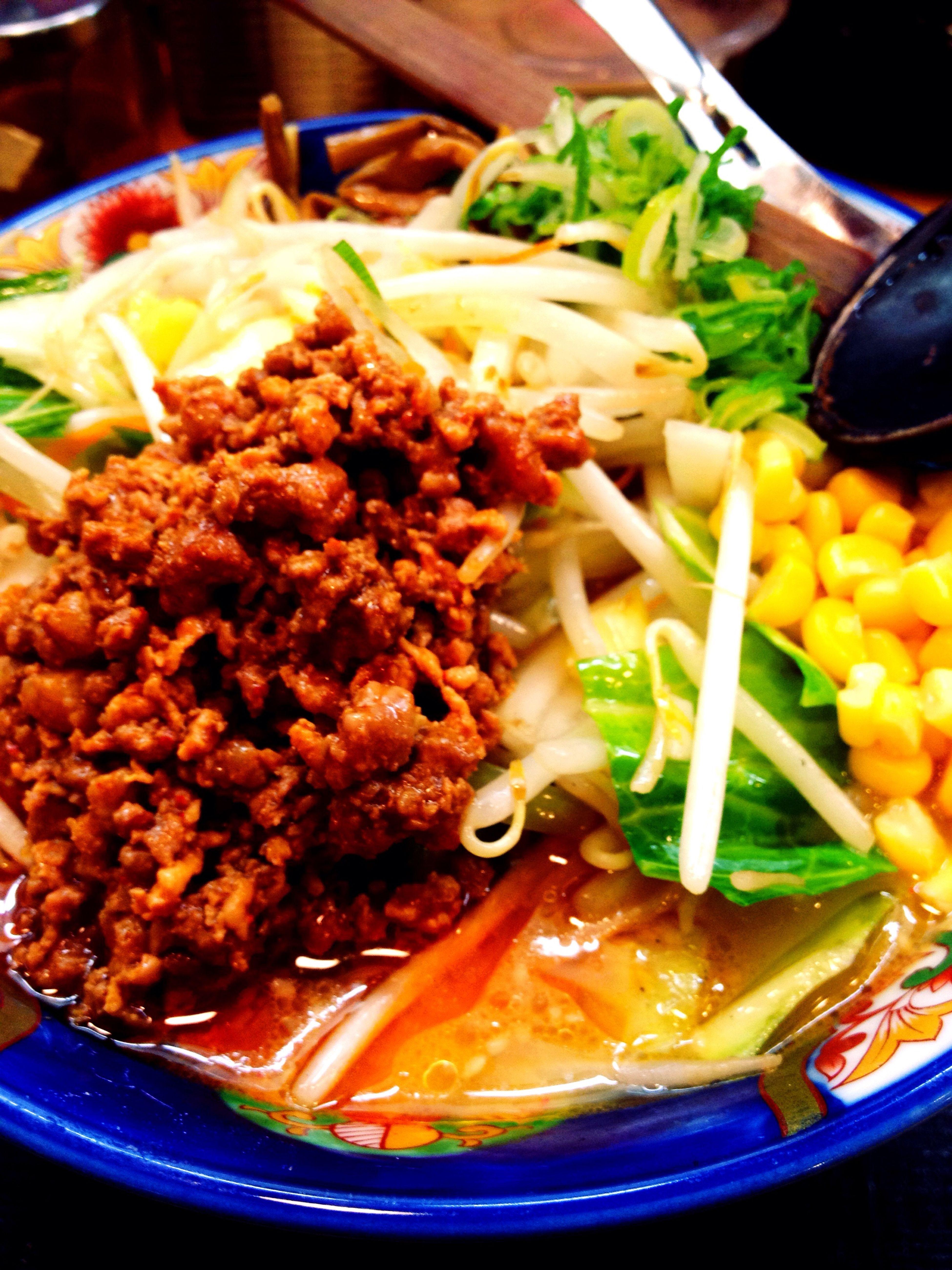 Eating at 一番亭 熱烈タンタン麺 田宮店 Eating