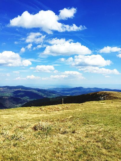 Landscape Nature Mountain Tranquility Sky Outdoors Nature Vosges Alsace