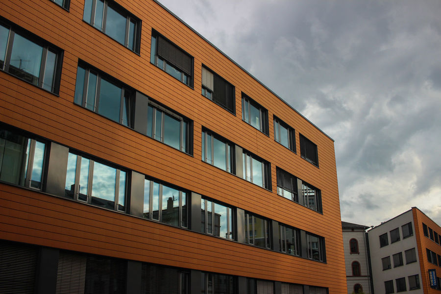 Architecture Building Exterior Built Structure Day Façade Low Angle View No People Sky Window