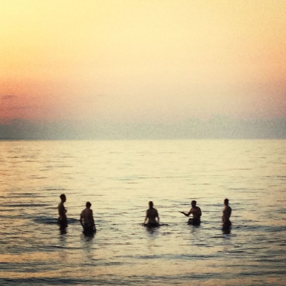 Beautiful stock photos of group, Calm, Day, Group Of People, Horizon Over Water