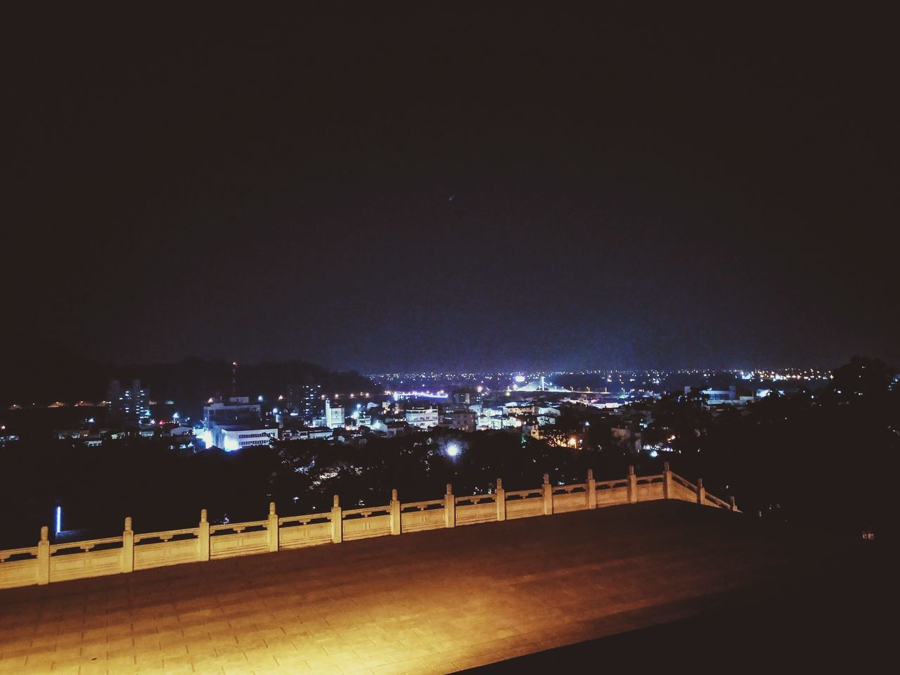 night, illuminated, no people, architecture, built structure, road, outdoors, building exterior, sky, nature, city
