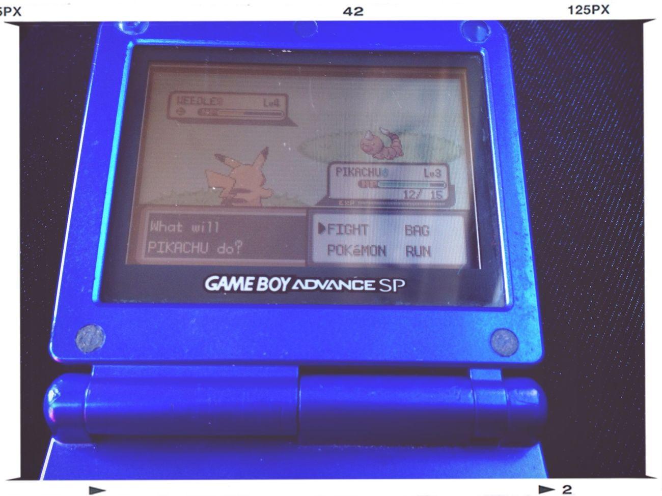 Playing Pokemon ❤
