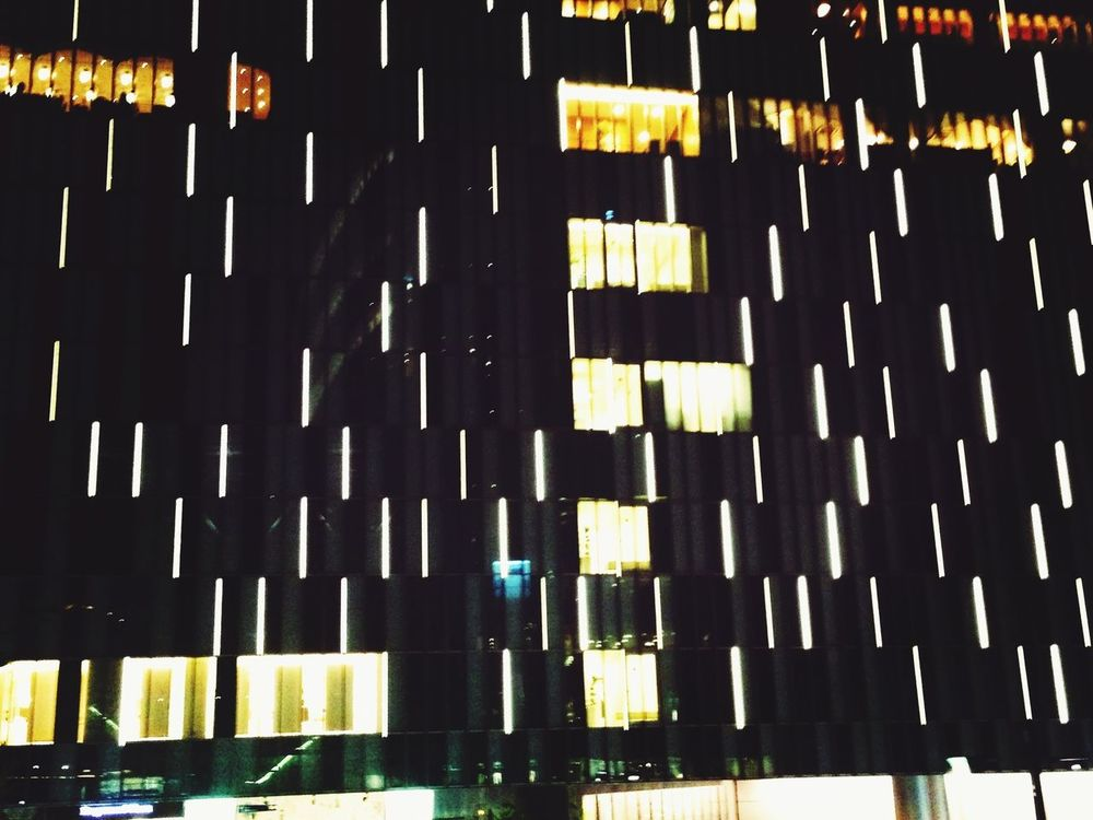 Nightphotography Taking Photos 退勤なう