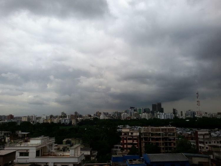 Citynature City View  Dhakacitylife Dhaka Sky Touching The Sky