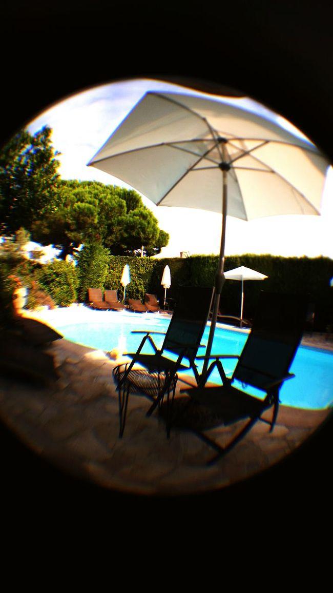 Taking Photos Poolview
