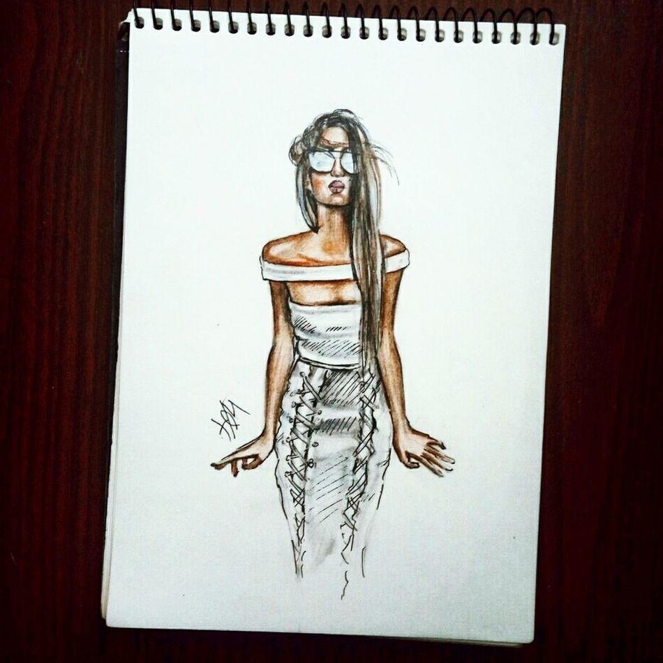 Quicksketch Drawing Fashionillustration Pen Pencils