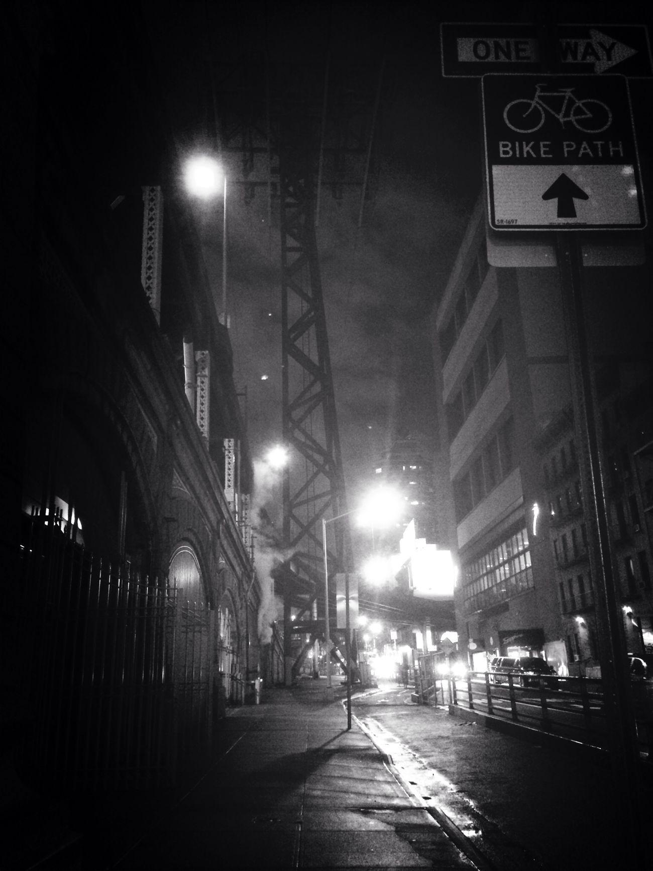 Bridge noir Queensboro_Bridge Newyorkcity
