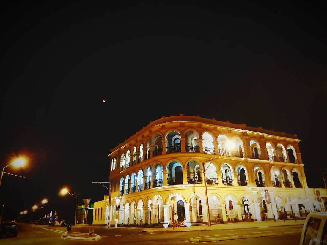 Night Architecture Built Structure Illuminated History Arch Dome