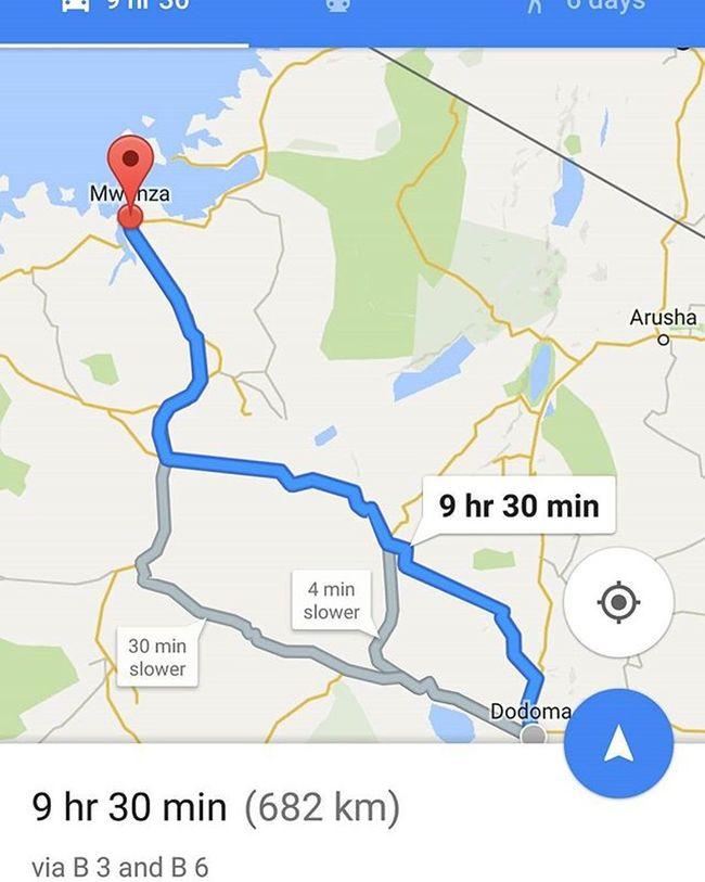 682 km