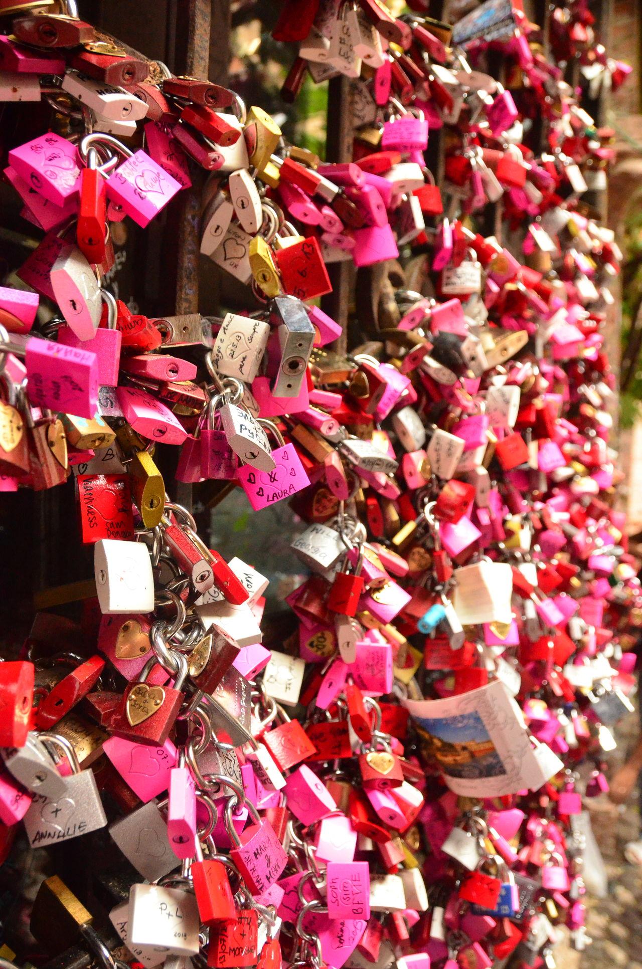 Verona Verona Italy Italy Love Romeo And Juliet Forever Locks