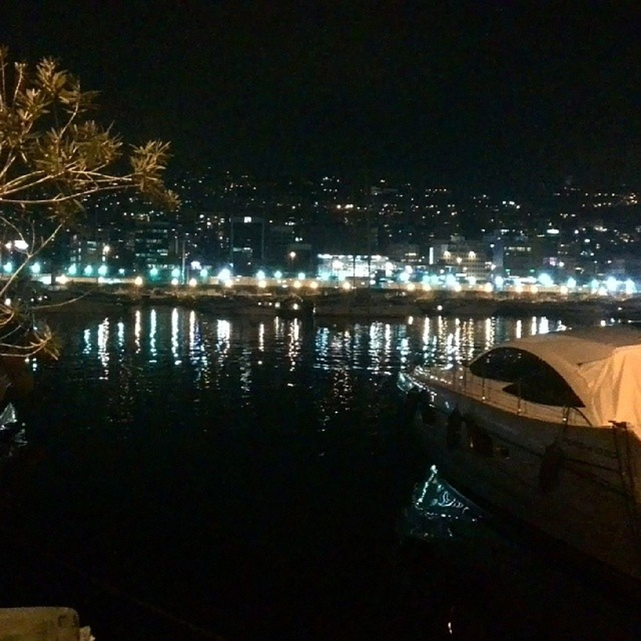 Dbayeh Marina Lights Reflection boatseafebruarylovelyweatherrelaxchillwalkingphotooftheday TagsForLikespromenadelivelovebeirut proudlylebanese
