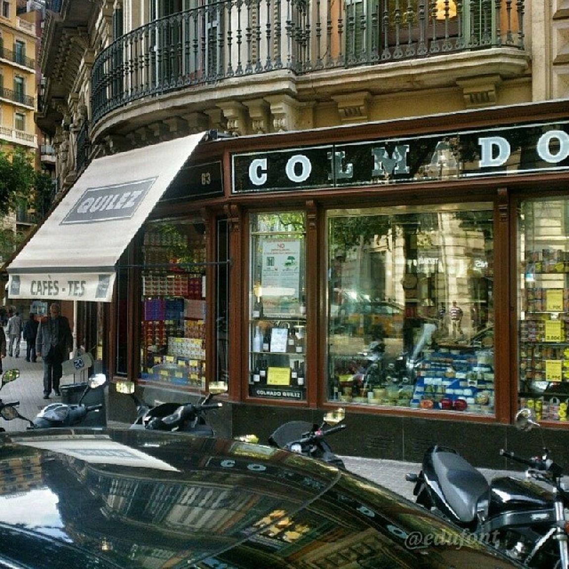 Una referència de la Bonavida_clikcat ! El Colmado Quílez, a Barcelona ! Catalunya