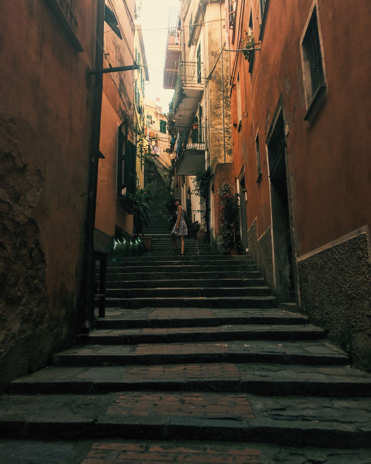 The Way Forward Architecture Built Structure Building Exterior Steps And Staircases Steps Staircase City Outdoors Day Sky