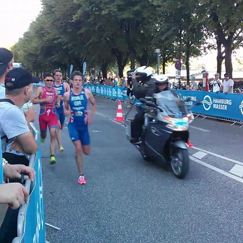 Go go go! #itu #triathlon TRIATHLON ITU