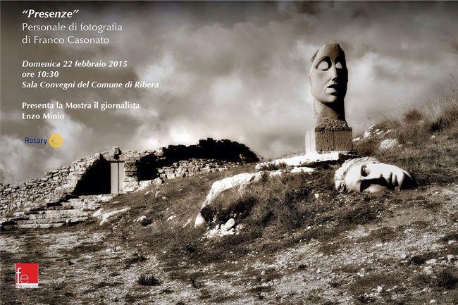 """""""Presenze"""": Solo photography exhibition in Ribera-Silicily / Personale di fotografia a Ribera (AG) Solophotoexhibit Ribera Sicily"""