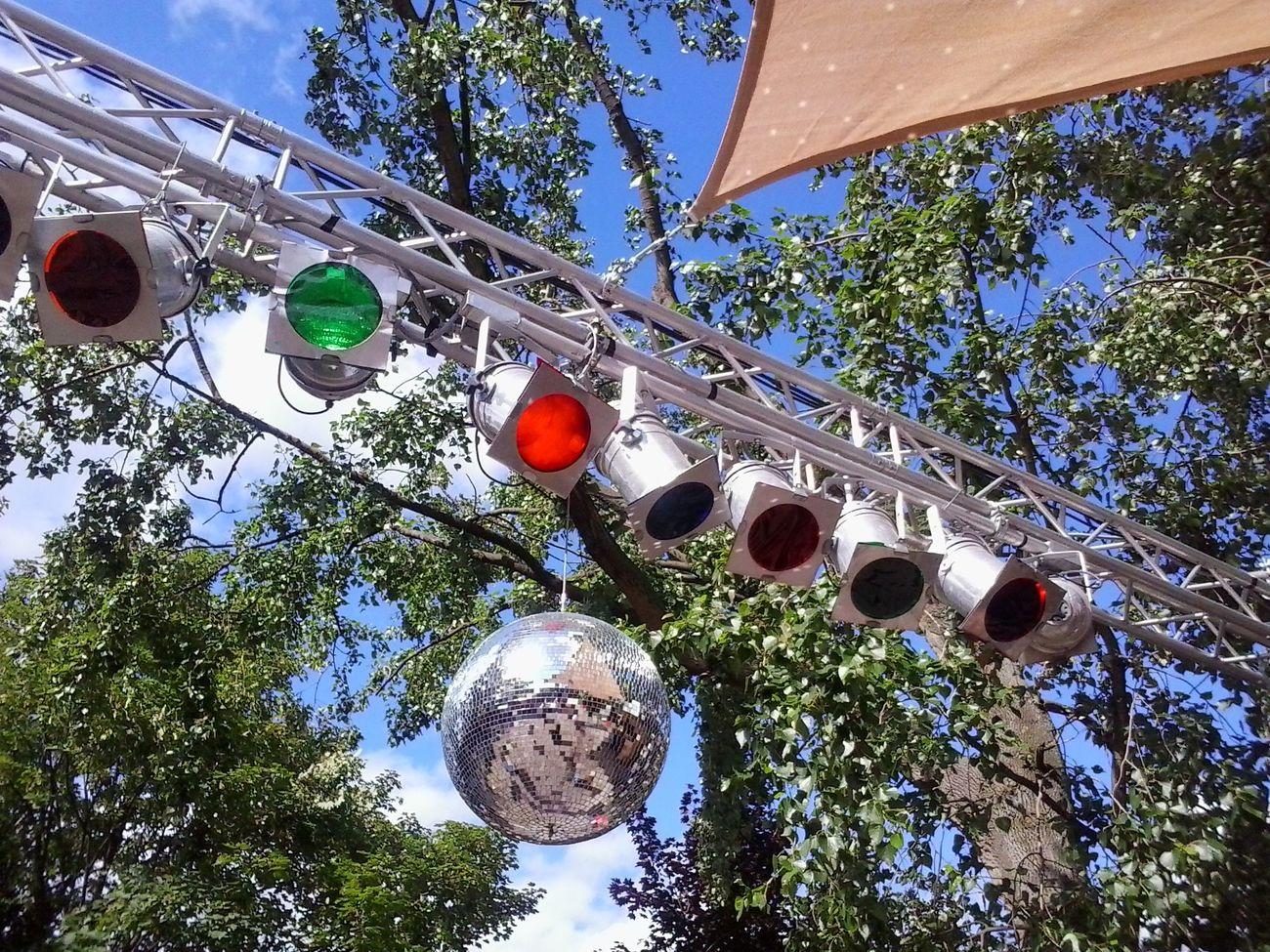 Dance Disco Diskokugel Draußen Festival Frühling Open Air Party Spring Tanzen