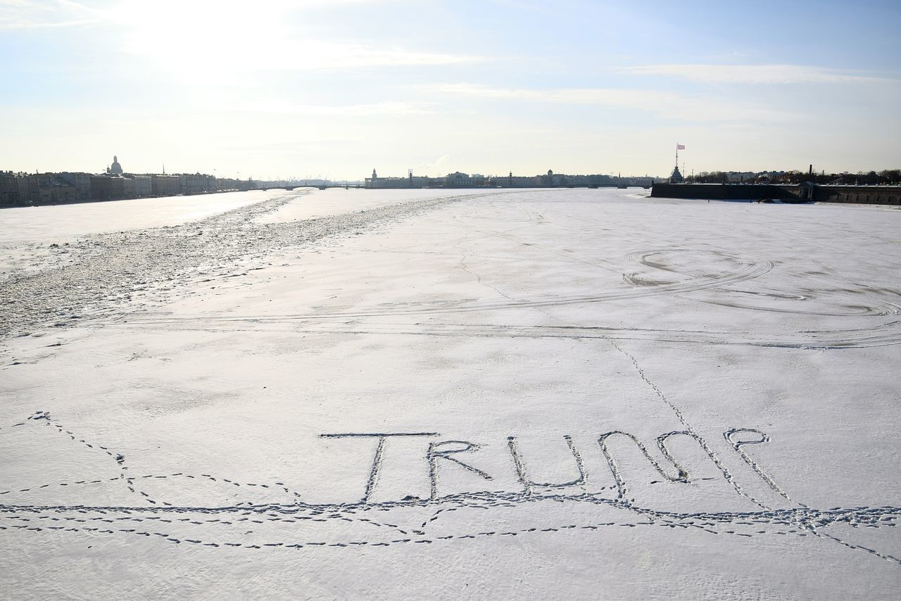 Sky Outdoors No People Beauty In Nature Water Nature Day River River Frozen Winter Cold Temperature City St Petersburg Russia
