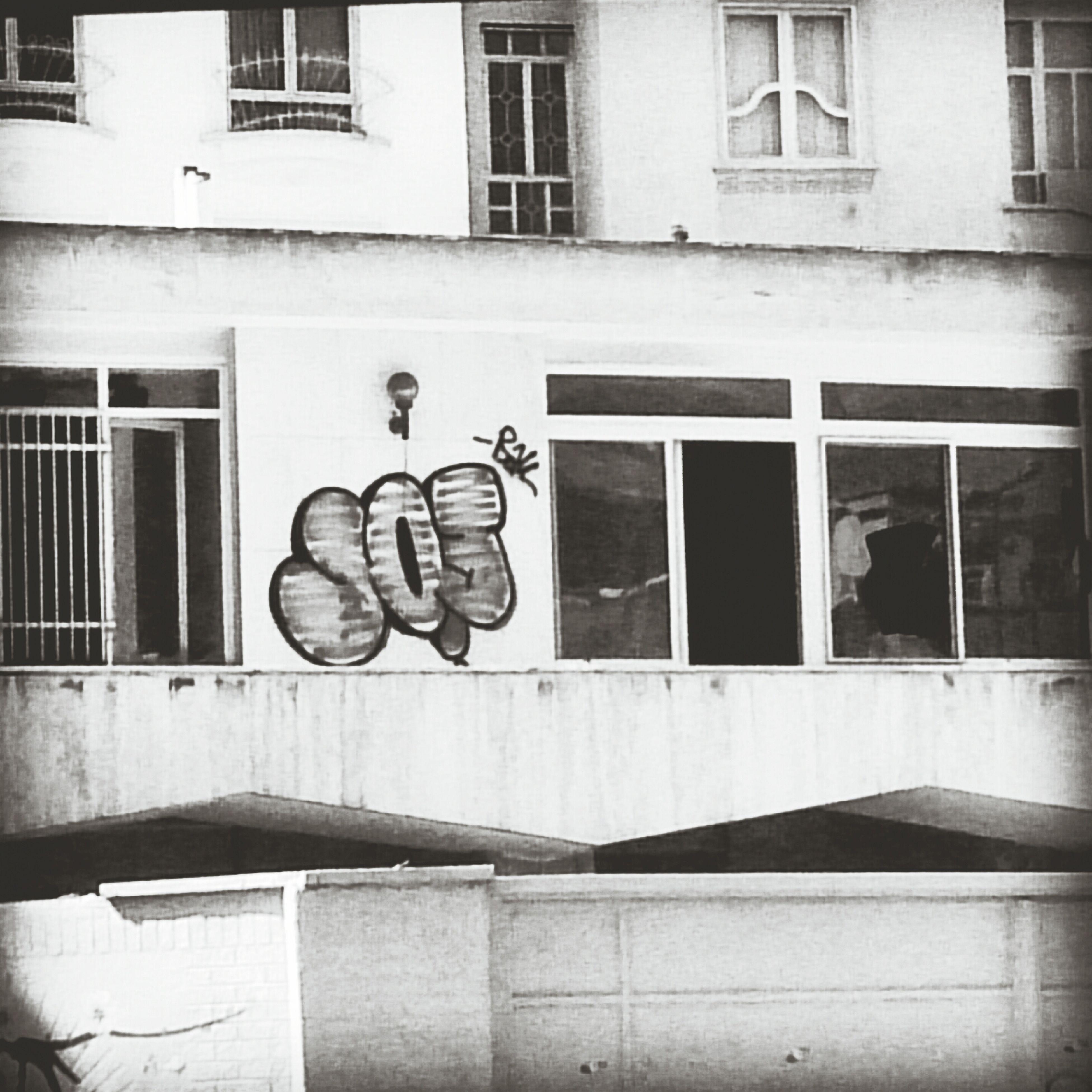 Sos Help Graffiti