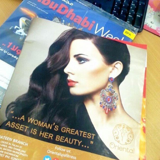 My work in ad week magazine ? Abudhabi Albateen Happy_dance Abudhabinews abudhabiweek magazine print advertising design marketing editorial ?