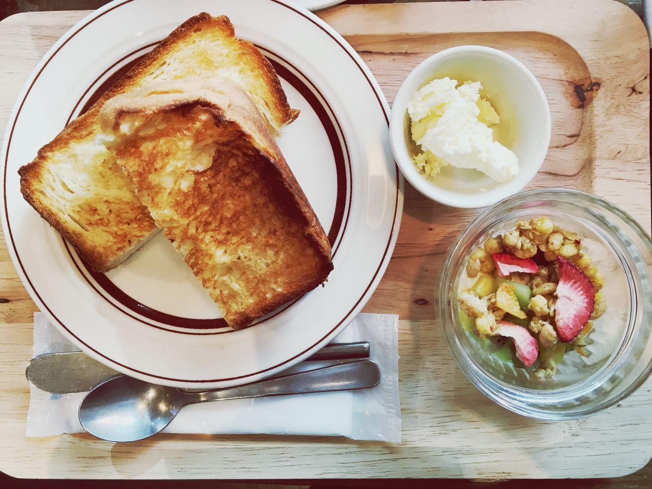 Cafe Good Morning Shibuya Breakfast