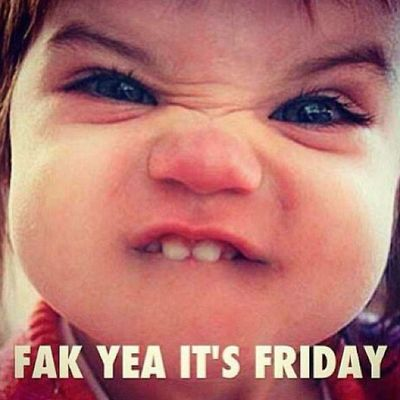 Its Weeeeekend baby!!! Hope your weekend is crazy amazing! ??? Goodmorning Sabahalkher Abudhabi Friday weekend whooohooo happy lets_get_the_party_started ????