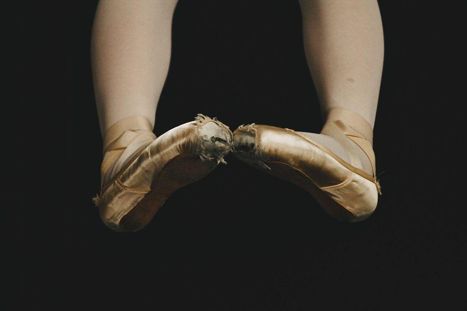 Ballerina Ballet Dancer Ballet Shoes Worn Out & Wonderful  Worn Out Shoes Worn Out