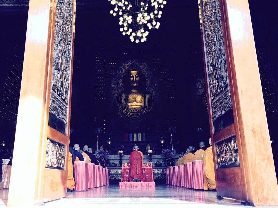 Kaoshiung Foguangshan Travel Destinations Travel Day Enjoy Buddhism Buddhist Temple Taiwan Culture And Tradition