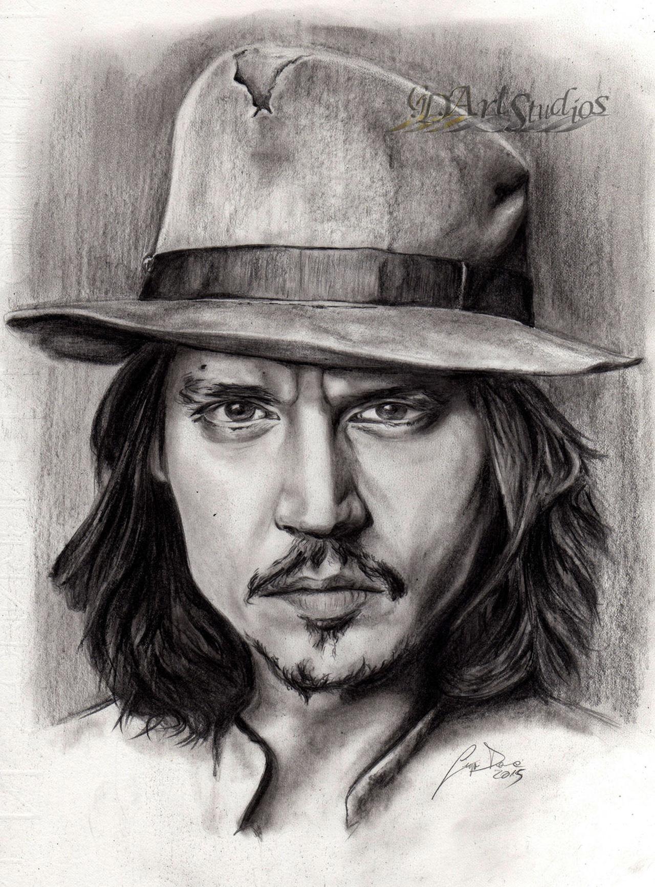 ArtWork Artworks Creativity Drawing Gdartstudios Johnny Depp Johnnydepp Portrait Realistic Ritratto Sketch Sketchbook