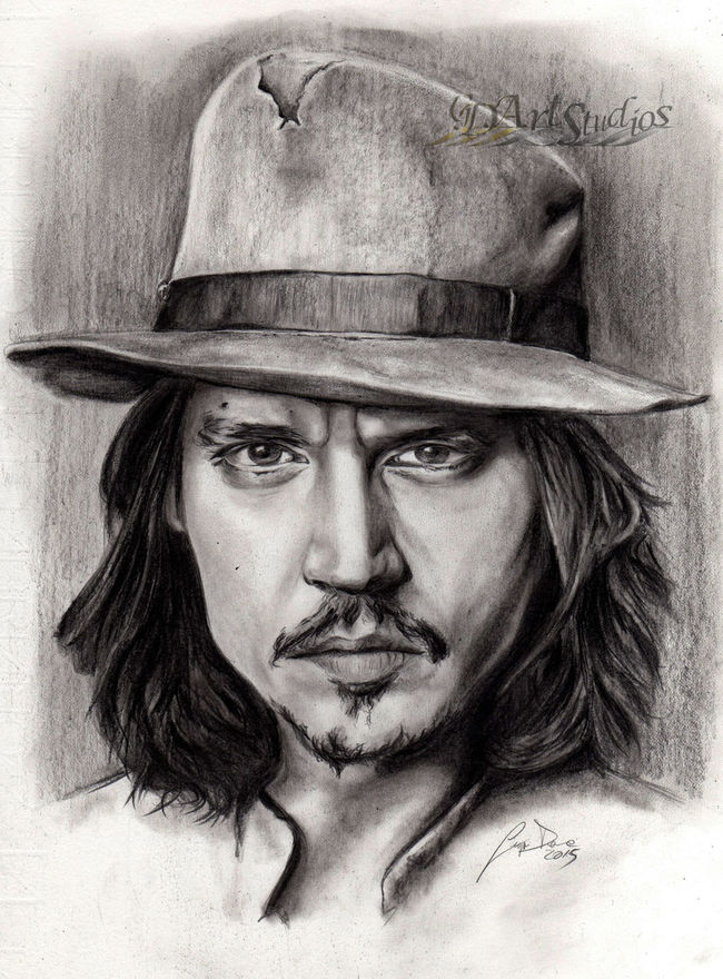 ArtWork Artworks Creativity Drawing Gdartstudios Johnny Depp Johnnydepp Portrait Realistic Ritratto Sketch Sketchbook