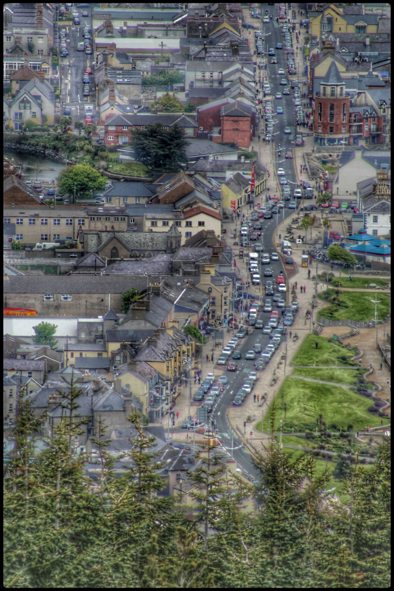 Town Birds Eye View Newcastle County Down Street From Above  Street From Above Map EyeEm Best Shots Our Best Pics Exceptional Photographs EyeEm Gallery Best Of EyeEm Pivotal Ideas Northern Ireland Traffic Busy Street Streetphotography Hustle And Bustle A Bird's Eye View Urban Exploration Town TOWNSCAPE People And Places Embrace Urban Life Adapted To The City