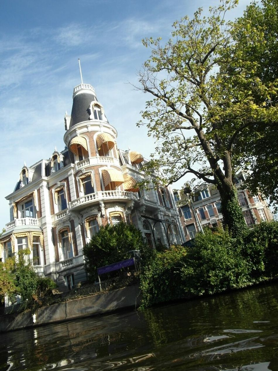 Your Amsterdam River Building Achitecture Explore Wanderer Showcase April Cruises Riverside Discove Amsterdam Amsterdam Canal Boating River View