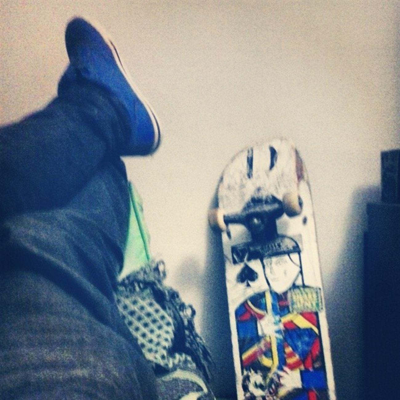 Rolé hooj foi pesado ... Skate Skateordead Skateboad ..