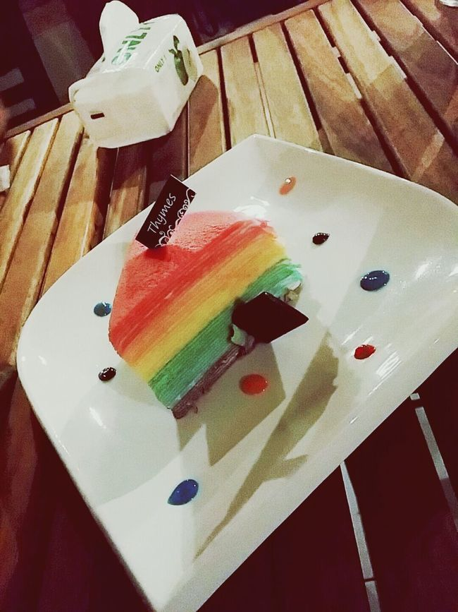 Crepe Rainbow Colors Rainbow Cake Yum Cakes Cake♥ Dessert Time! Cakelovers Cake Time Dessert Porn Dessertoftheday Crepe Cake Crepe Time Cake Cake Cake Cake