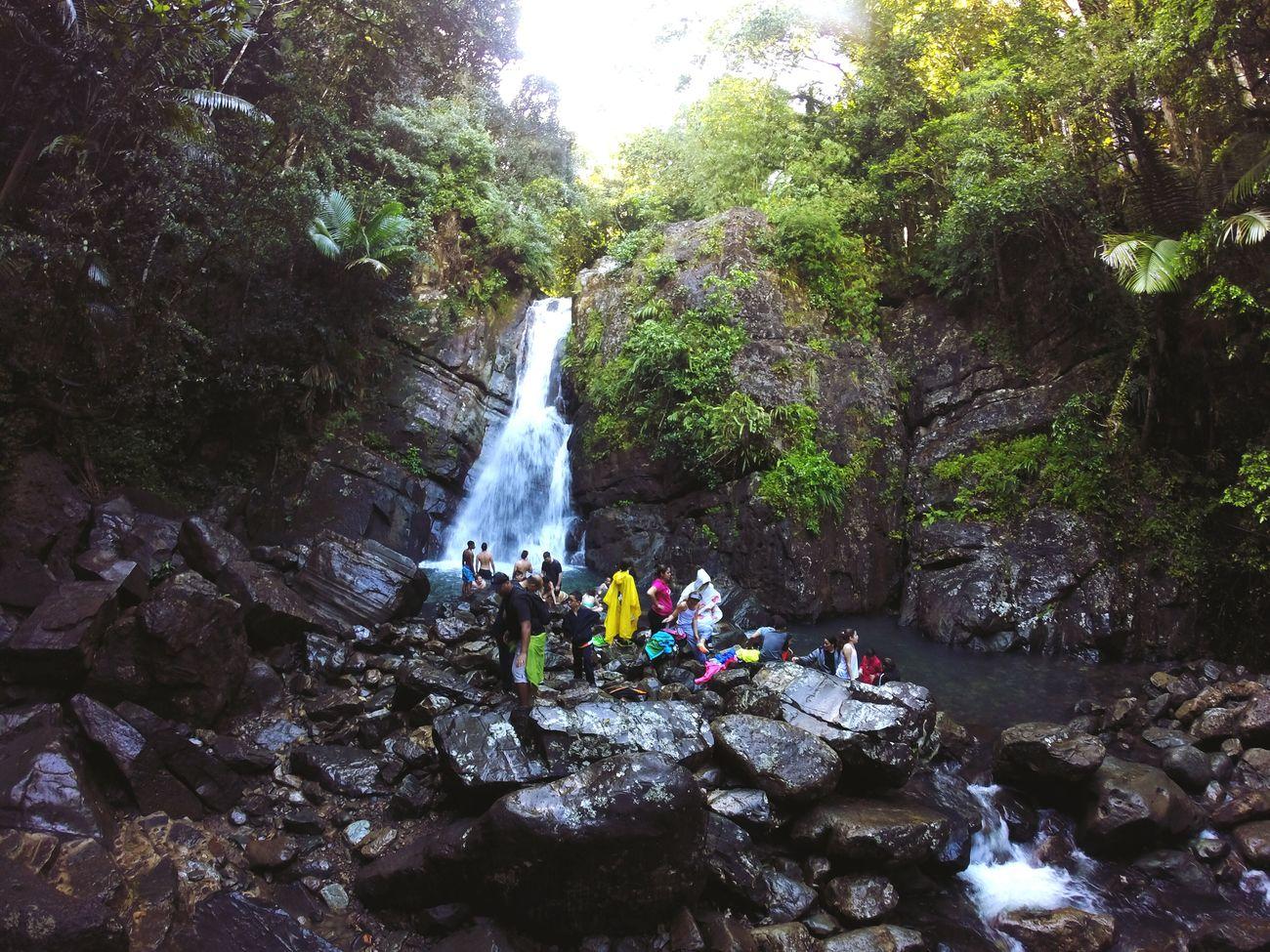 La Mina Falls - Puerto Rico Waterfall Puertorico