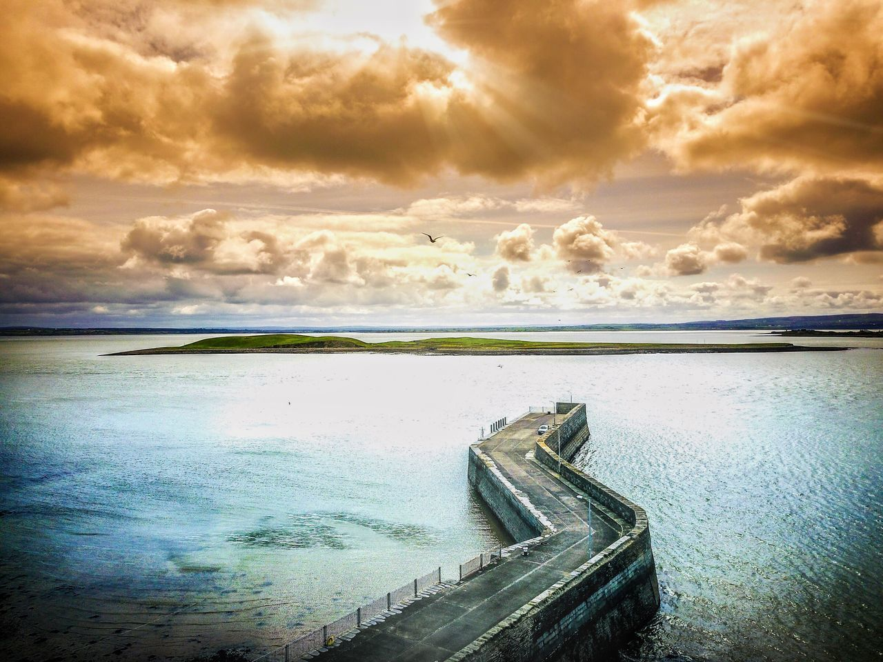 Water Sky Nature Cloud - Sky Beauty In Nature Sea Scenics No People Tranquility Outdoors Day Kilrush Cappa Ireland