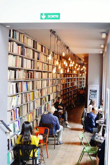 Check This Out - Merci's Bookshop Cafe - Paris ❤