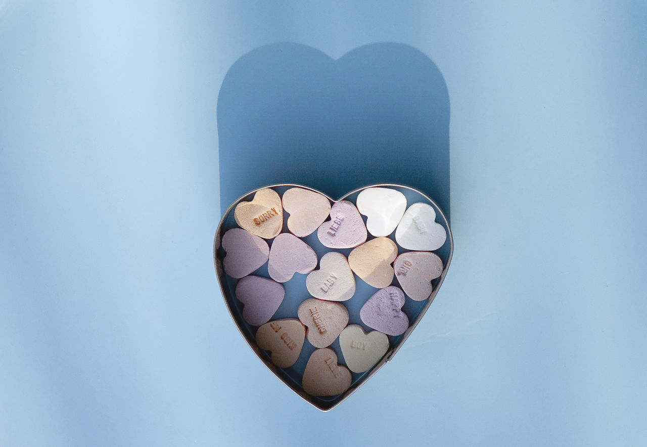 Candy Candy Heart Close-up Heart Shape Large Group Of Objects Love Love No People Pastel Pastel Power Romance Shape