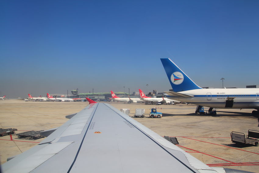 Air Blue Clear Sky Fly Journey Mode Of Transport Thy Tourism Travel Destinations Turkishairlines