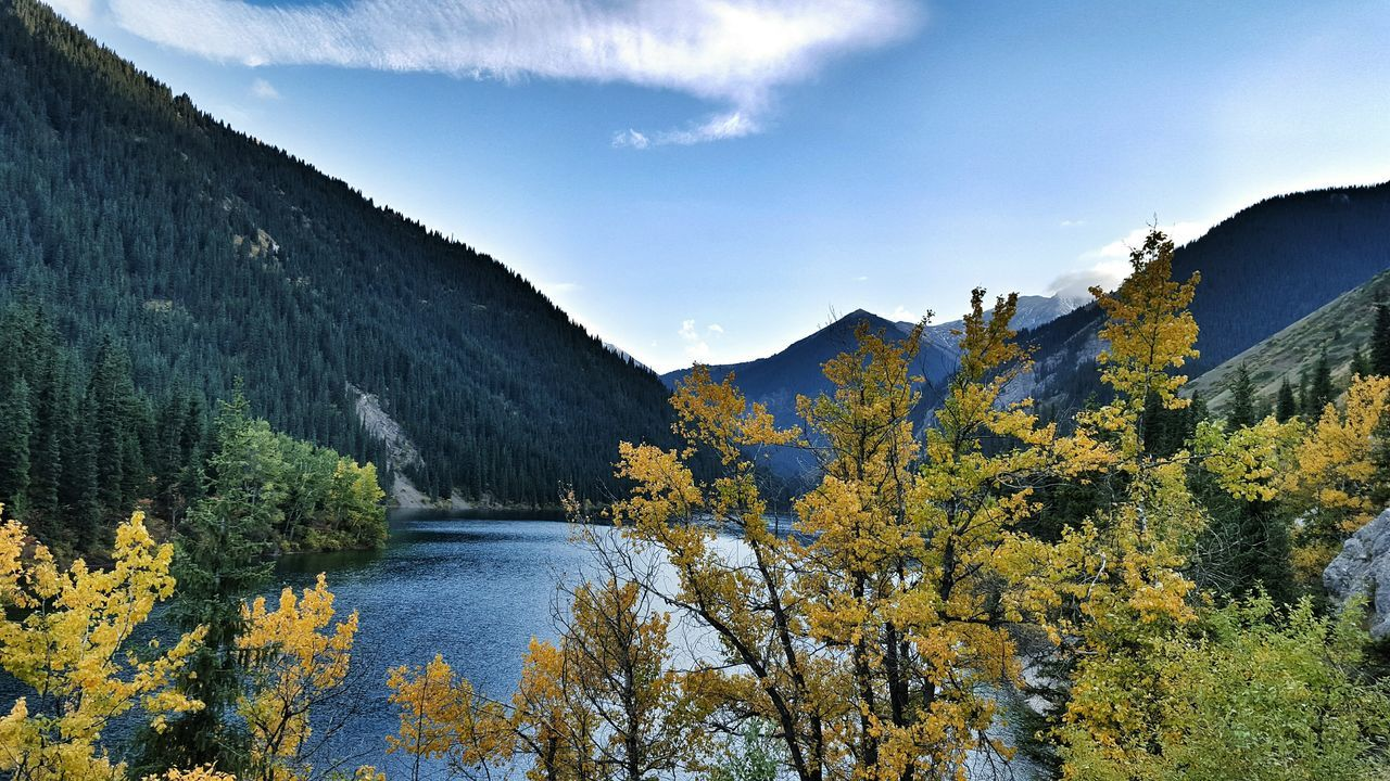 Beauty Of Nature Kolsay Kazakhstan Nature Nature_collection Lake View Lakes  Autumn Colors Almaty Fine Art Photography Colour Of Life