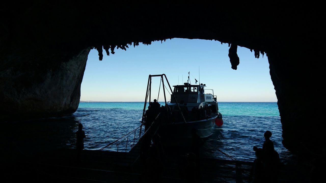 Grottadelbuemarino Lowlights Boattrip Summerday Summer Memories 🌄 SeaBlue Cave Entrance Crystal Clear Waters Miles Away EyEmNewHere