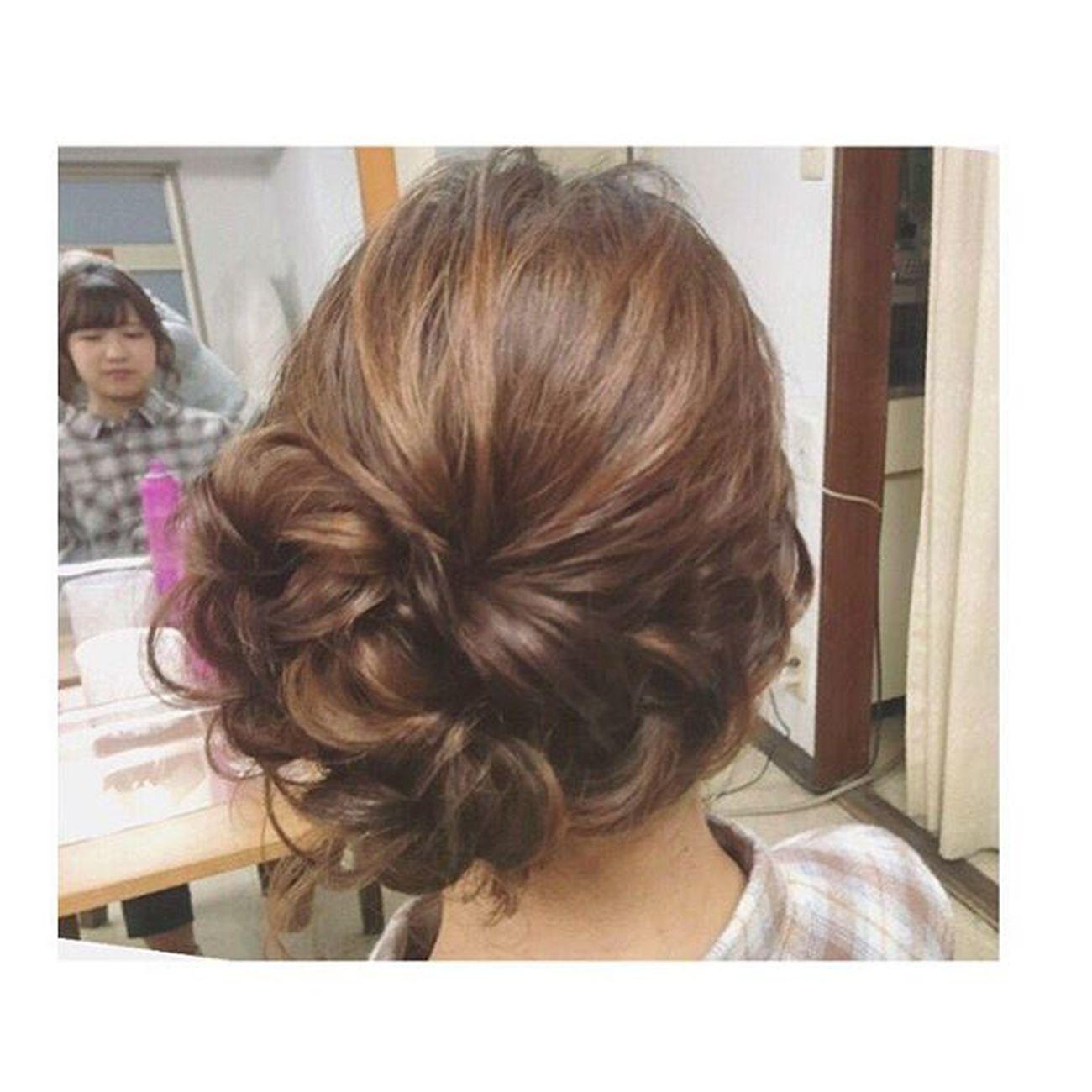 ヘアセット Hairアレンジ ヘアアレンジ Hair 美容院 錦 セットサロン 成人式 ヘアー 成人式のお客様♡