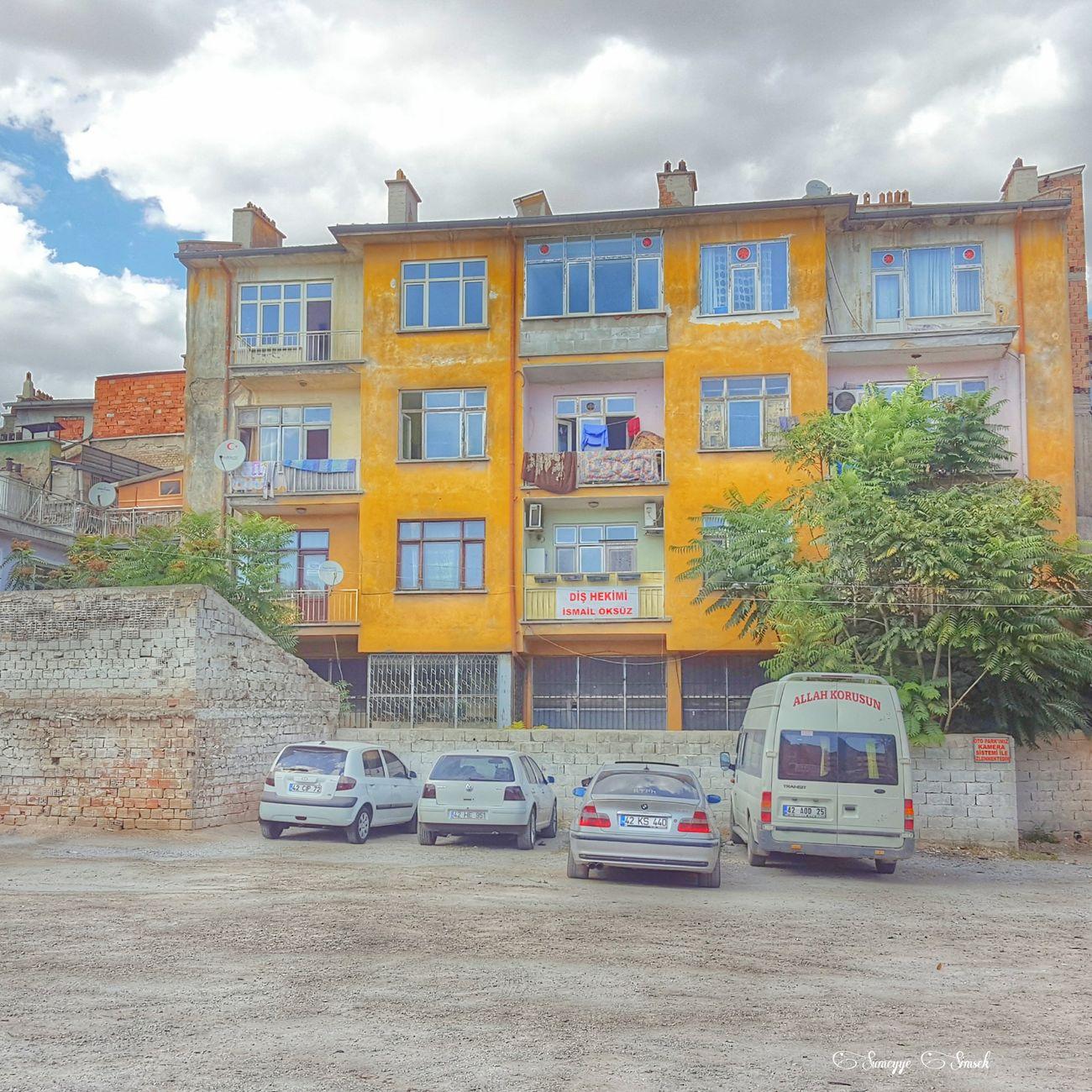 Türkiye Buildings Apartment City Life Outdoors Street Residential Structure Window Day Konyadan Turkeyphotooftheday Konyagram Konya Worldwide_shot